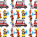 Seamless Firefighters Stock Image - 44147551