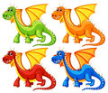 Dragons Stock Photography - 44147942