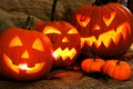 Halloween Jack O Lanterns Stock Image - 44157451