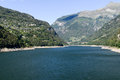 The Dam Of Verzasca On The Swiss Alps Stock Images - 44160884