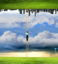 Parallel Worlds Stock Photo - 44169240