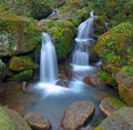 Waterfall And Rocks Stock Image - 4421541