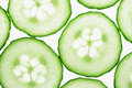 Cucumber Slices Stock Images - 4421764