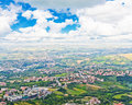 Italian Landscape. View From Heights Of San Marino Royalty Free Stock Images - 44208849