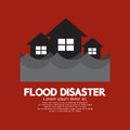 Building Soaking Under Flood Disaster Royalty Free Stock Images - 44239689