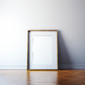 Blank Picture Frame On A Wall Stock Photos - 44250273