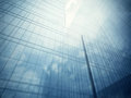 Glass Walls Of Skyscraper Royalty Free Stock Images - 44250669