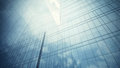 Skyscraper S Glass Wall Royalty Free Stock Photography - 44250767
