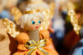 Colorful Belarusian Straw Dolls At The Market In Belarus Stock Images - 44255314