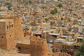Jaisalmer Fort In Rajasthan, India Stock Images - 44259684
