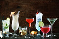 Selection Of Festive Christmas Drinks Stock Images - 44269974
