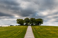 Woodland Cemetery Stock Photography - 44271332