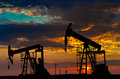 Oil Pumps Royalty Free Stock Images - 44277669