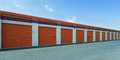 Long Row Of Self-Storage Units Stock Image - 44283691
