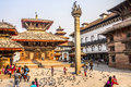 On Durbar Square Royalty Free Stock Photography - 44313867