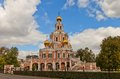Church Of The Intercession At Fili (1694) In Moscow, Russia Stock Photography - 44348152