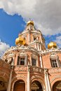 Church Of The Intercession At Fili (1694) In Moscow, Russia Stock Photo - 44348220