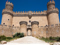 Spanish Castle Royalty Free Stock Photo - 44352655
