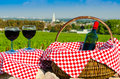 Glass Of Red Vine, Burgundy, France Royalty Free Stock Photos - 44353058