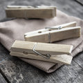 Wooden Clothes Pegs Stock Photo - 44359240