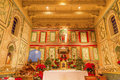 Old Mission Santa Ines Solvang California Basilica Altar Cross Stock Photography - 44368632