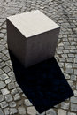 Abstract Marble Cube Royalty Free Stock Photography - 44372687