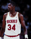 Hakeem Olajuwon, Houston Rockets Royalty Free Stock Photography - 44409097