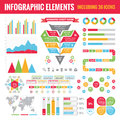 Set Of Infographic Elements (including 36 Icons) - Vector Concept Illustration Stock Photos - 44417083