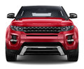 Red Compact Suv Stock Photography - 44418262