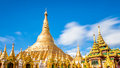 Shwedagon Pagoda In Yagon, Myanmar Royalty Free Stock Photography - 44419317