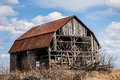 Old Abandoned Barn Royalty Free Stock Photography - 44423047