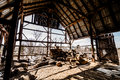 Old Abandoned Barn Royalty Free Stock Photos - 44423258