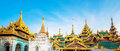 Shwedagon Pagoda In Yagon, Myanmar Stock Photography - 44423442