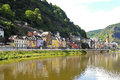 Waterfront In Cochem Town On Moselle River Stock Images - 44429584