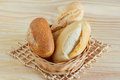 Brazilian French Bread Integral, Mini Baguette, With Sesame In W Royalty Free Stock Photography - 44429677