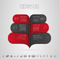 Infographics Banner Vector Illustration With Icons Stock Photo - 44429830