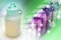 Can Container For Milk Royalty Free Stock Photography - 44444257