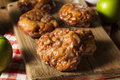Homemade Glazed Apple Fritters Royalty Free Stock Image - 44475426