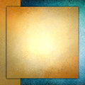 Solid Gold Paper Layered On Blue And Gold Background, Square Gold Paper Stock Image - 44478171