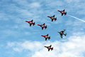 Patrouille Suisse Acrtobatic Team At Payerne Air14 Royalty Free Stock Photos - 44487128