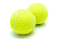 Tennis Balls Isolated Royalty Free Stock Image - 44494496