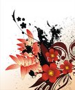 Abstract Floral Background Stock Images - 4451334