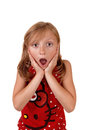 Surprised Young Girl. Stock Photography - 44504622