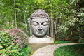 Buddha In The Bamboo Forest Stock Photos - 44506903