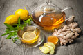 Ginger Tea Royalty Free Stock Photography - 44537397