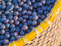 Acai In Baskets Royalty Free Stock Image - 44545986