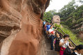 Leshan Giant Buddha In Mt.Emei Stock Photo - 44548860