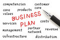 Business Plan Royalty Free Stock Photography - 44554257