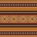 Seamless Knitted Pattern. Vector Background Royalty Free Stock Photos - 44554288