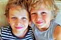 Portrait Of Brothers Royalty Free Stock Image - 44557466